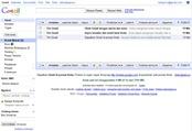 Tampilan menu Kotak Masuk di Gmail