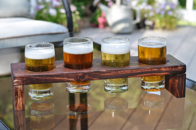 DIY Beer Tasting Flight