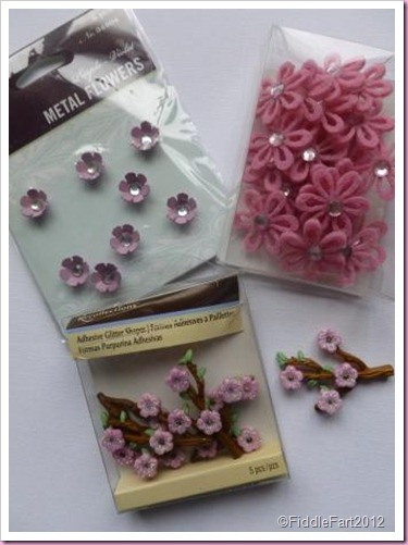 Michaels Craft embellishments