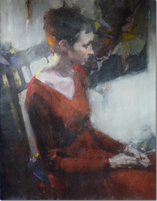 Portrait of P.Kuznetsova-Vadim-Suvorov-ENKAUSTIKOS
