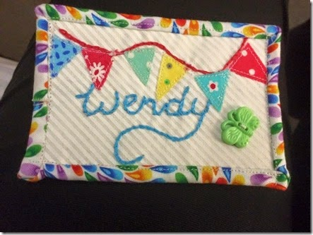my badge by Sue