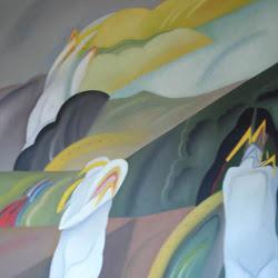Rodolfo Opazo (chileno)- Arcaico-130 x 110-1997