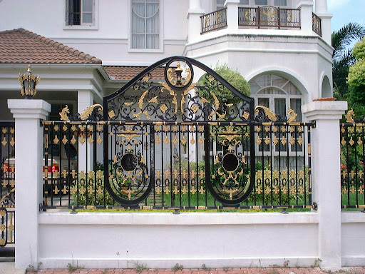 custom gates, design gates, artistic gates, estate gates, main gates ...