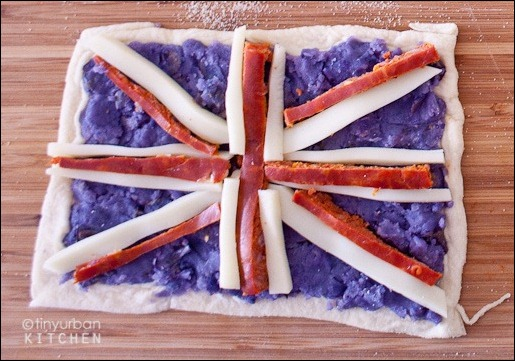 The United Kingdom pizza