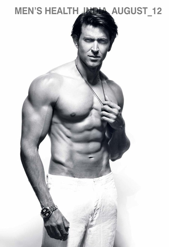 Hrithik Roshan Bares Heart to Men's Health India August 2012