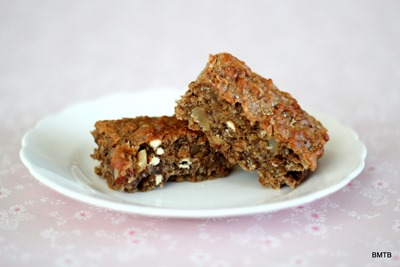 Banana Oaty Nut Bars
