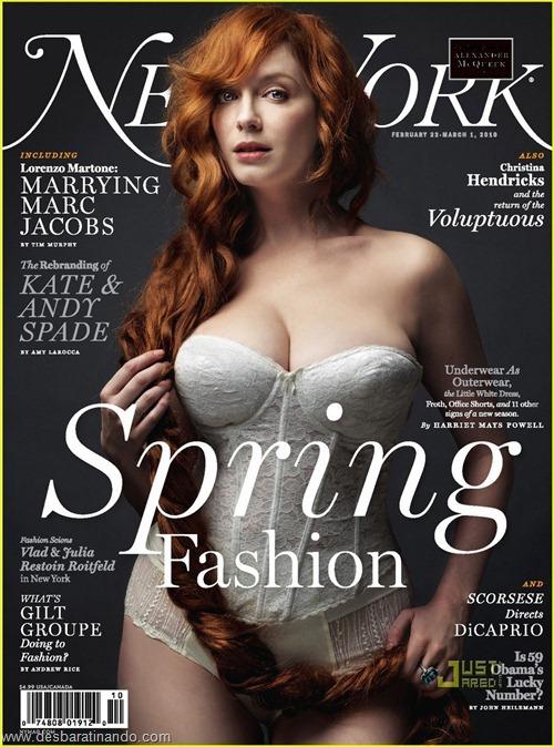 Christina Hendricks linda sensual sexy sedutora decote peito desbaratinando (72)