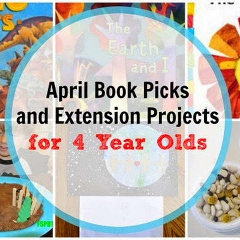 6 April Books for 4 Year Olds