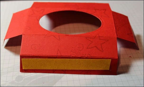 Teelichter Verpackung Schachtel Nikolaus Weihnachten Box selbstgemacht 7