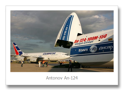 Top 4 Biggest Aircraft - Antonov An124