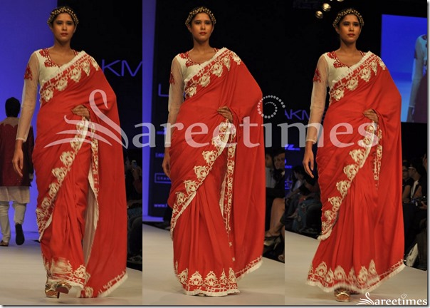 Debarun_Red_Saree
