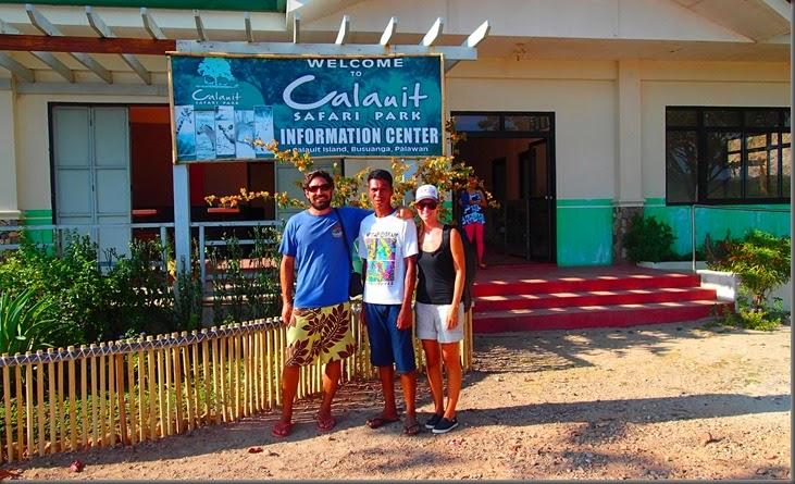 Calauit Safari park  information center phillippines