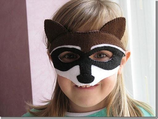 Mascara de lobo en fomi - Imagui