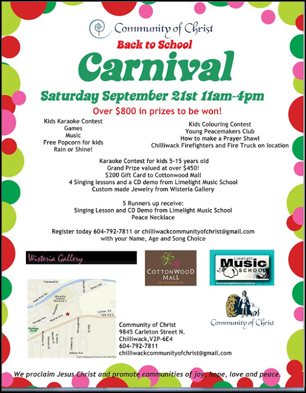Carnival Flyer Front