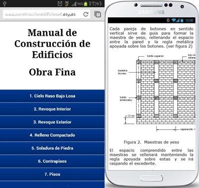 Obra Fina-Construcción de Edificios Android App