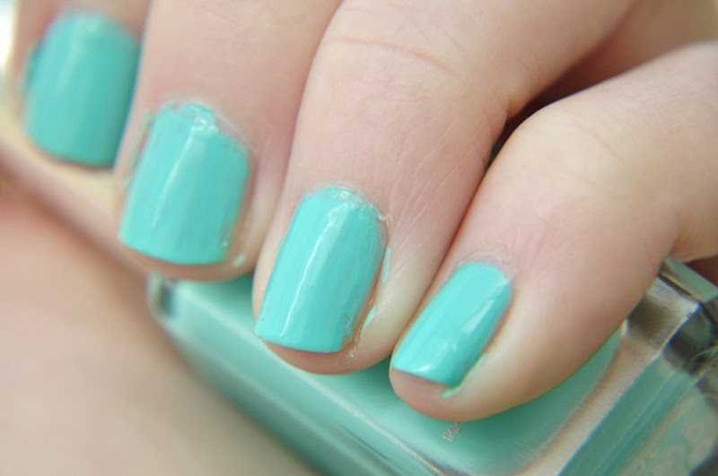 NOTD barry m greenberry gelly nail paint swatch[6]