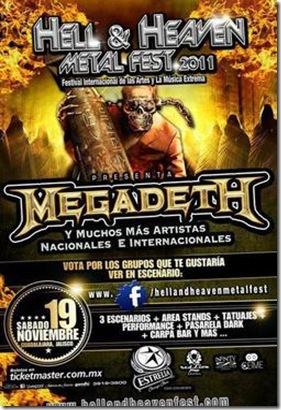 megadeth guadalajara 2011