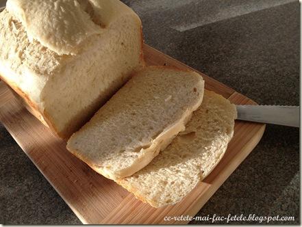 Felie de paine cu cartofi si parmezan