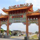 写真2:ビントゥル華人墓地