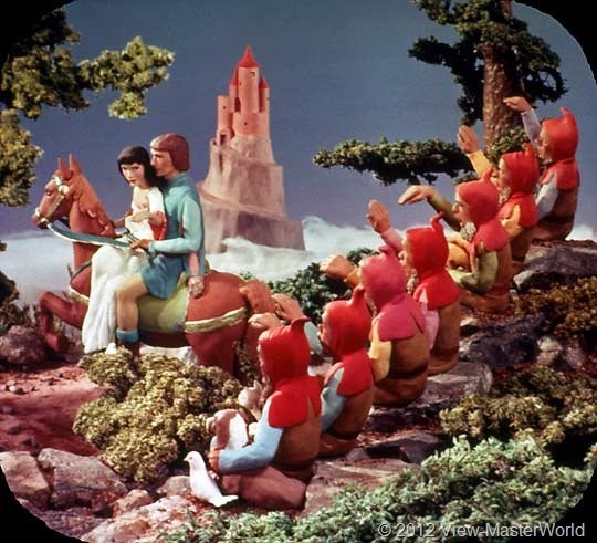 View-Master Snow White and the Seven Dwarfs (B300), Scene 21