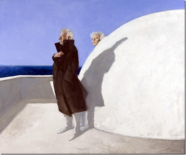Julio Larraz -Cumae, The End of Winter, 2009