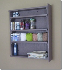 build a shelf from an old drawer