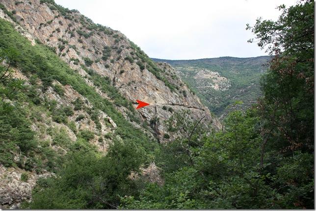 2012 Vakantie Pyreneeen 054 pijl