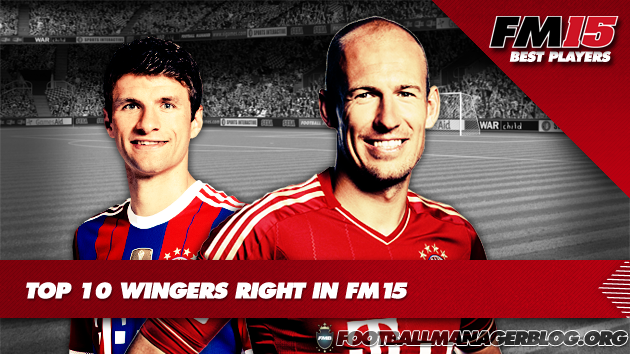 Top 10 Wingers Right in Football Manager 2015