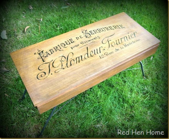 Red Hen Home French Bench 2