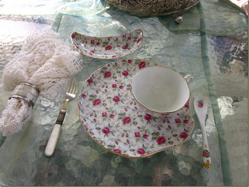 lefton chintz plates