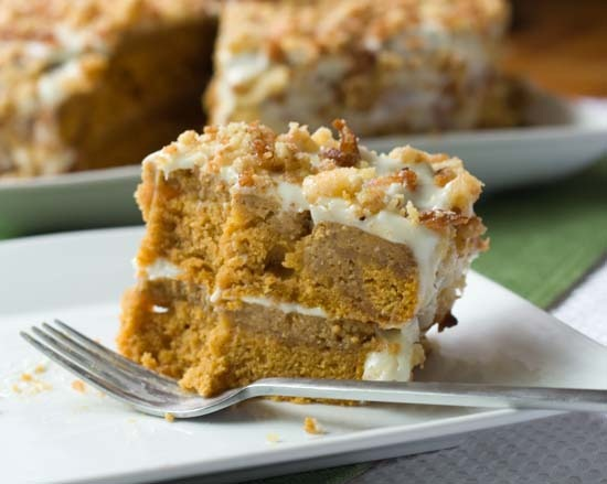 6pumpkin crunch cake