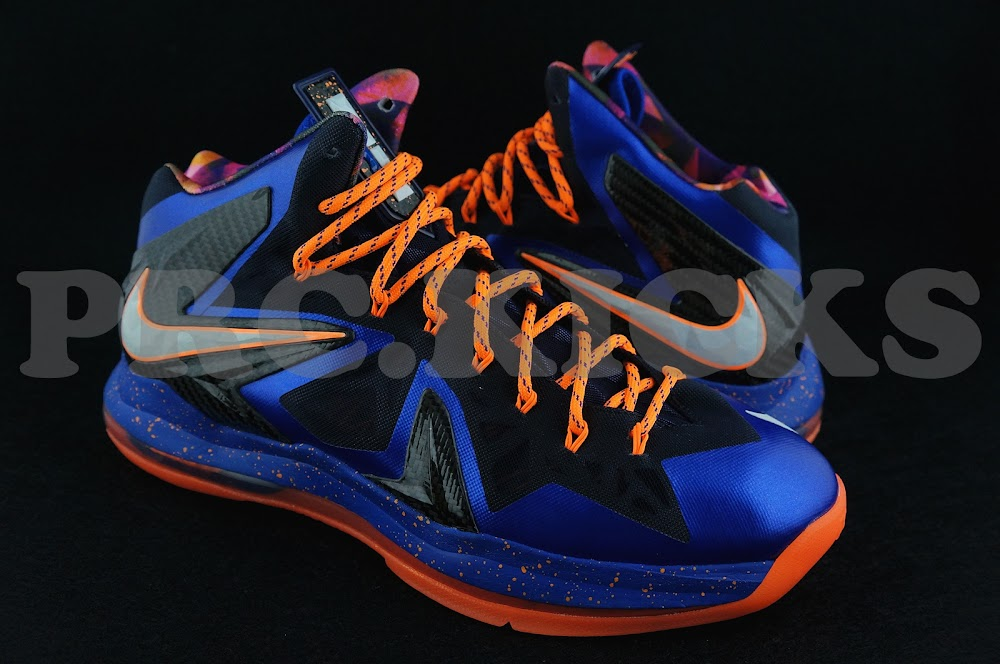 Nike LeBron 10 EXT Black Turquoise Blue