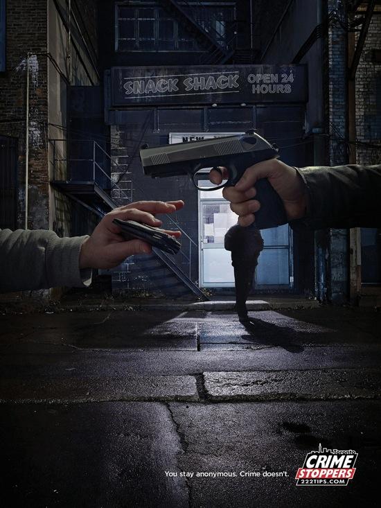 Toronto Crime Stoppers rob