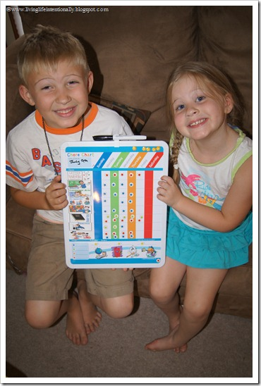 Homeschool Subject Chart for Kids