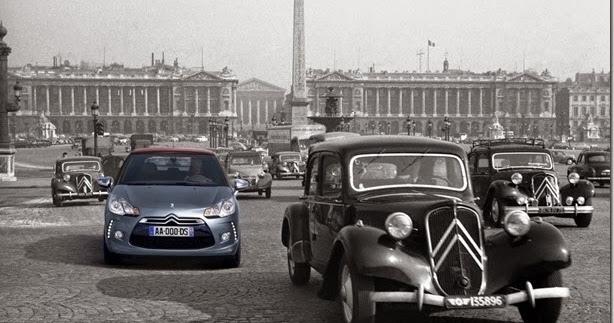 A França, os automóveis e a melancia na cabeça