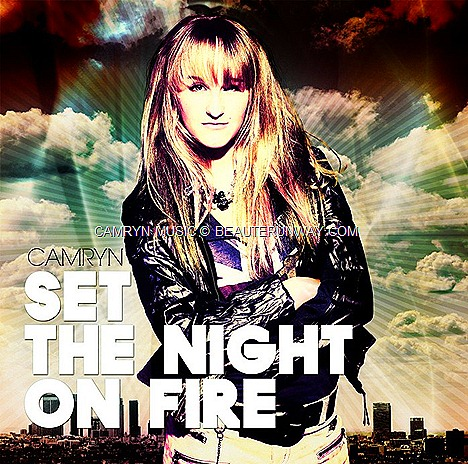 "Camryn, Singer of ""Set the Night On Fire"" concert debut in Asia with Greyson Chance Hold On 'Til The Night 2012 Arena Tour Malaysia, Singapore, Indonesia Philppines"