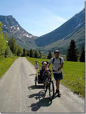 Sykkeltur til Sæbø pinsa 09 007