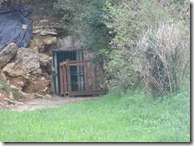 Intrarea în peștera originală Altamira
