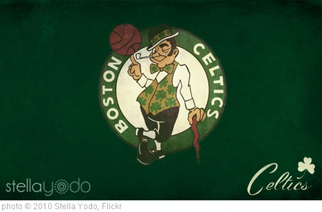 'Boston Celtics Wallpaper v1' photo (c) 2010, Stella Yodo - license: http://creativecommons.org/licenses/by/2.0/
