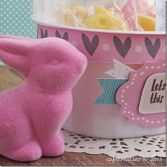 cafecreativo - Craft Asylum - Easter treat basket - Pasqua cestino - scrapbooking