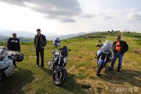 Balade moto au lac d'Irabia (Espagne)