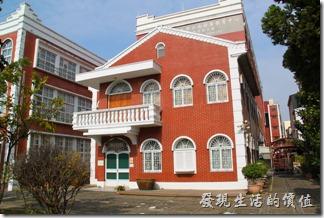 台南-長榮中學。林茂生文物紀念館。