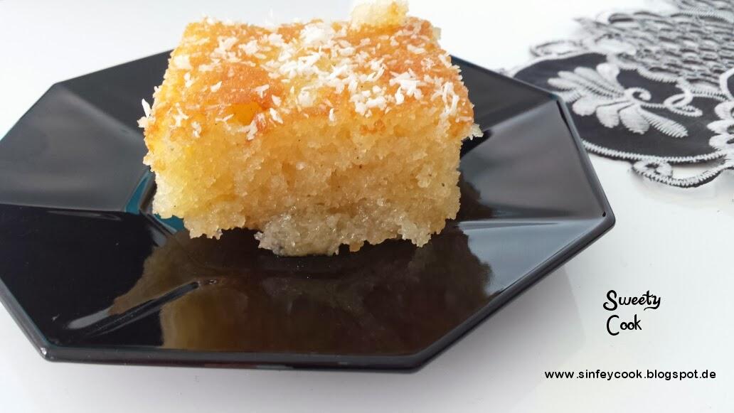 Sweety Cook Turkischer Revani Kuchen