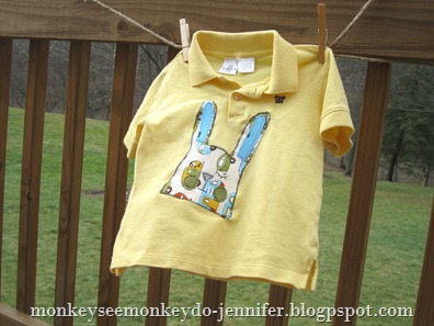 boys' shirt with bunny applique (12)
