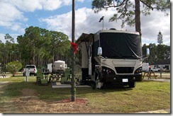 our site in Bonita Lake RV Resort