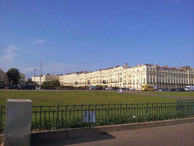 Homes in Hove Brighton from the promenade