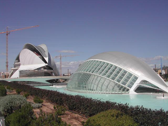 Santiago calatrava sus trabajos como arquitecto - Trabajo arquitecto valencia ...