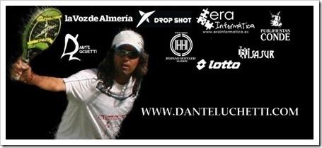 El jugador Dante Luchetti estrena nueva página web: www.danteluchetti.com