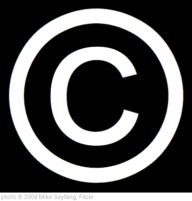 'Copyright Symbols' photo (c) 2008, Mike Seyfang - license: http://creativecommons.org/licenses/by/2.0/