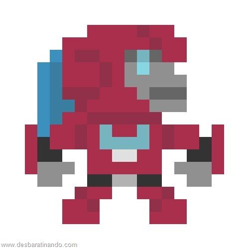 super herois e viloes em 8 bits transformers  (6)